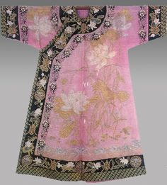 Chinese woman robe, Qing dynasty (1644-1912)