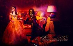 Belle and Rumplestiltskin, Once Upon A Time.....