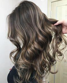 cool Ash+Brown+Hair+With+Highlights... Random Check more at http://pinfashion.top/pin/40391/