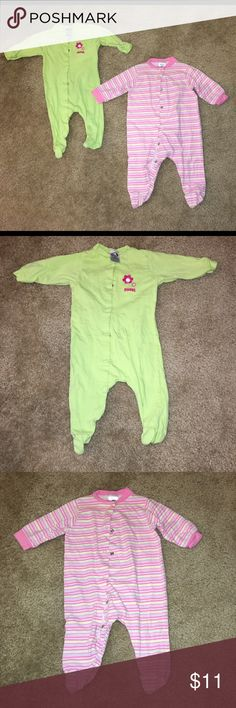 0-3M Gerber Seepers 0-3M Gerber Sleepers  Has minimal signs of wear and has been cleaned. Price is firm unless interested in multiple listings. Please only inquire if serious about buying. Gerber Pajamas Pajama Sets