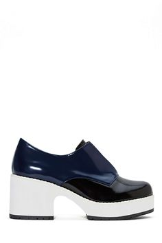 Shellys London Chero Leather Bootie - Color Block | Shop Mod at Nasty Gal