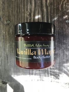 VANILLA MAPLE ultra hydrating body butter Body Butter, Shea Butter, Aromatherapy Products, Vanilla Oil, Infused Oils, Sunflower Oil, Happy Marriage, Pure Essential Oils, Herbalism
