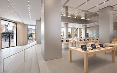 The design of Apple Stores around the world don't get enough attention for their design. We've all been in an Apple Store before and seen just how simple and effective the interior is. Even though ...