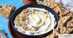 Toasted Sesame Seeds, Toasted Almonds, Eggplant Dishes, Fruit Preserves, Yogurt Parfait, Lebanese Recipes, Creamy Cheese, Kitchen Recipes, Snacks