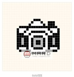 复古小相机图纸#拼拼豆豆# #水印text#-堆糖,美好生活研究所