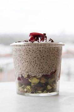 Sweet Cherry Chia Bowl