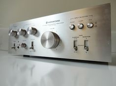 POWERFUL Vintage Kenwood Stereo Integrated Amplifier Receiver Amp KA-3500 Mid-Century Mad Men Eames Era Rare Vintage Electronics