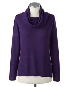 Eileen Fisher Cozy Melange Sweater-Dillards | How To Wear: Chunky ...