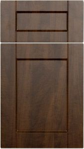 Natural vg fir shaker door m and j woodcrafts your for Chocolate pear kitchen cabinets