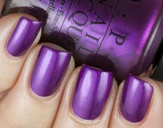 "Opi ""Suzi & the 7 Düsseldorfs"". Obviously I need to get this color for my birthday manicure. :-)"