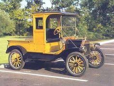 1913 Ford Model T Closed Cab Pickup