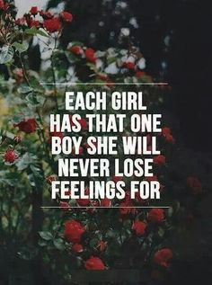 And she never will..