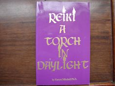 REIKI A Torch In Daylight, Vintage Healing Book, Paperback, 1994, Books, Hands on Healing, Light Workers, Health, Healer by BackStageVintageShop on Etsy