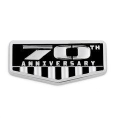 Mad Hornets - 3D 70th Anniversary Metal Sticker Emblem Decal Badge Jeep Wrangler…