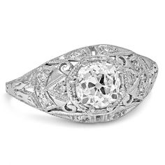 Platinum The Zinna Ring from Brilliant Earth