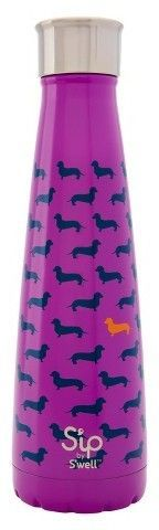 S'ip by S'well®; 15oz Stainless Steel Insulated Water Bottle - Top Dog Purple