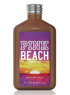 Victoria's Secret Pink® Sun Kissed Luminous Body Bronzer thestylecure.com