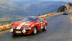 Vic Elford Ferrari 365GT/B Daytona Tour de France