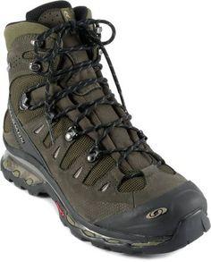 My boots except mine are orange. Salomon Quest 4D GTX Hiking Boots - Men's