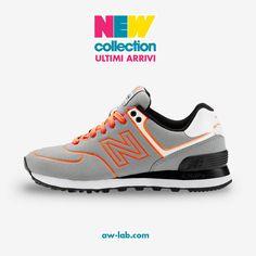 New Collection #AWLAB #NEWBALANCE #574 NEON LIGHTS Prezzo: 95,00€ Shop online: http://www.aw-lab.com/shop/new-balance-574-neon-lights-5012275