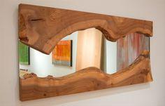 salvaged elm mirror from Urban Hardwoods