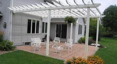 Pergola Attached To House 7
