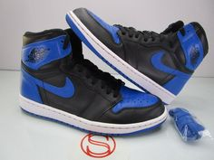 official photos f839f 74ca3 Details about Nike Air Jordan Retro I 1 High OG Hyper Royal Blue Sail Lot  555088-401 Sz 8-13