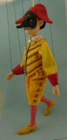 marionette Commedia dell'arte  Il Capitano The by AMCreatures
