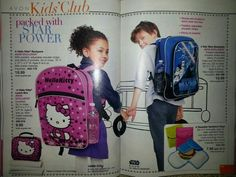 Avon Kids Club - Hello Kitty Backpack , Hello Kitty Lunch Box, Star Wars Backpack , Reusable Sandwich Bags 3pc set   Need a rep? I'd love to be your rep contact me at http://cschnieders.avonrepresentative.com/