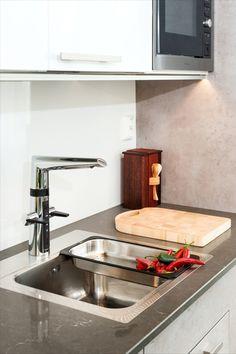 Berøringsfritt armatur fra Oras Oras, Sink, Design, Home Decor, Taps, Sink Tops, Vessel Sink, Decoration Home, Room Decor