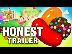 Oh my gosh, embarrassed to say, but so true! Where was this before I got roped in?Candy Crush IS EVIL!    CANDY CRUSH SAGA (Honest Game Trailers) - YouTube