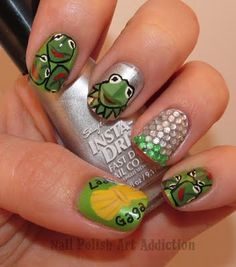 Kermit polish  by polish art addiction