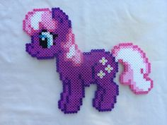 Cheerilee - My Little Pony Friendship is Magic perler beads by PrettyPixelations