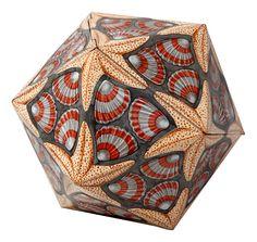Icosaëder. Maurits Escher, 1963.