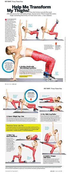 Thigh-Transforming Workout | Posted By: NewHowToLoseBellyFat.com