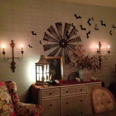 Quince Cottage Dining Room Halloween © Rhiann Wynn-Nolet