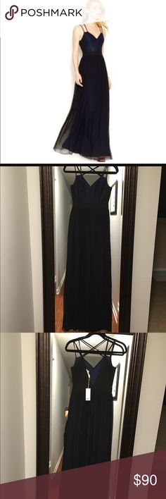 BCBGeneration Double Strap Front Lace Gown Brand New gorgeous gown from BCBG. BCBGeneration Dresses