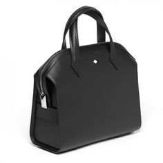 Bolso Holmes femenino en negro. Fabricado en piel.