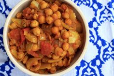 Chickpea curry 1