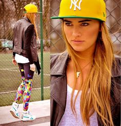 Girls in Baseball Hats Drive Guys Wild