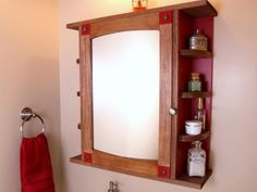 DIY Network has instructions on how to build a mirrored medicine cabinet for extra bathroom storage.