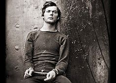 Lewis Powell imprisoned. Powell, Seward's attacker, was held on the USS Saugus, an ironclad moored in Washington harbor.