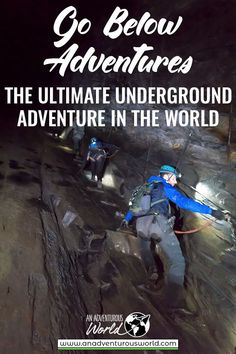 Are you brave enough to go on the world's longest underground zipline in the pitch-black dark? Then Go Below Underground Adventures in Wales is the place for you! If you like abseiling, climbing and ziplining, then this is one of the best adrenaline pumping activities you can do in the UK. You also get to learn all about the slate mines in Wales too! #GoBelow #UndergroundAdventures #AdventureWales #NorthWales