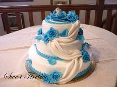 Sweet Fireblue: Torta battesimo + confetti decorati!