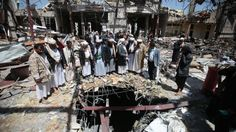 Saudi-led coalition blames Yemeni party for funeral bombing - http://nasiknews.in/saudi-led-coalition-blames-yemeni-party-for-funeral-bombing/