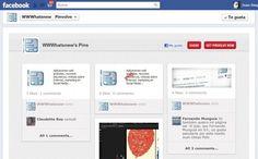 Pinvolve transforma páginas de Facebook en paneles de Pinterest / Pinvolve transforms Facebook pages into Pinterest boards!!