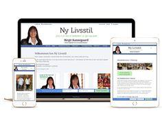 WordPress hjemmeside med personligt Divi Child Theme til Ny Livsstil v/ Birgit Kannegaard
