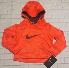 cadafb8b7 Nike Dri-fit Sw00sh Boys Pullover/hoodie Size 2t Orange Style 76b528-n1y  for sale online | eBay