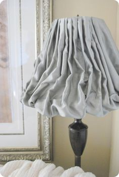 I have oogles of lampshades waiting for these fun ideas!!  How To: up-scale your lampshade