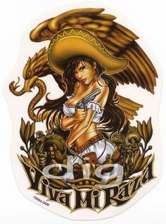 Mexican Man Mexican woMan Wearing A Sombrero Mexican American, Mexican Men, Mexican Girls, Chicano Tattoos, Chicano Art, Chicano Drawings, Arte Lowrider, Mexican Artwork, Mexican Art Tattoos